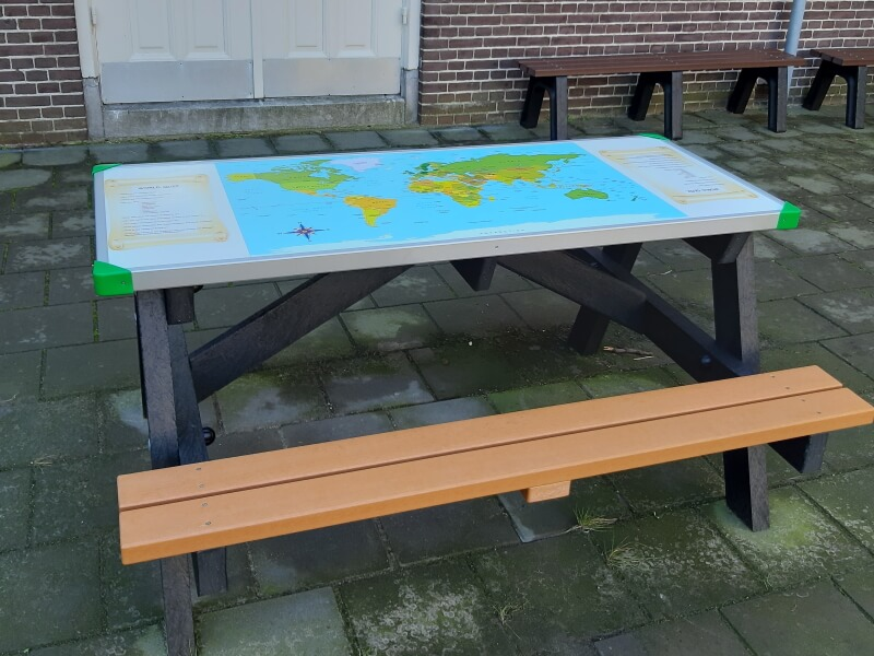 a frame gameboard picknicktafel (3)